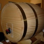 Botticelle in legno per Bag in Box